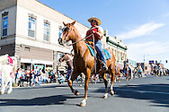 The Westward Ho Parade at the Pendleton Round Up Rodeo, Pendleton OR, USA