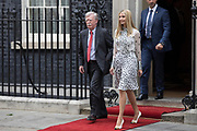 UNITED KINGDOM, London: 04 June 2019 <br /> Ivanka Trump leaves No 10 Downing Street this afternoon during the second day of President Trump's official state visit.
