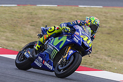 June 9, 2017 - Barcelona, Catalonia, Spain - MotoGP - Valentino Rossi(Ita), Movistar Yamaha Motogp Team during the MotoGp Grand Prix Monster Energy of Catalunya, in Barcelona-Catalunya Circuit, Barcelona on 9th June 2017 in Barcelona, Spain. (Credit Image: © Urbanandsport/NurPhoto via ZUMA Press)