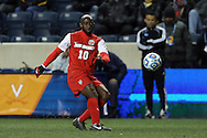 13 December 2013: New Mexico's Michael Kafari (GHA). The University of Notre Dame Fighting Irish played the University of New Mexico Lobos at PPL Park in Chester, Pennsylvania in a 2013 NCAA Division I Men's College Cup semifinal match. Notre Dame won the game 2-0.