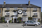 The Black Swan is standing in Helmsley, Yorkshire, England, United Kingdom.
