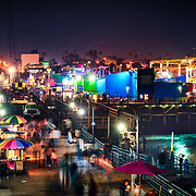 Santa Monica Pier. Santa Monica, CA