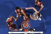 DESCRIZIONE : Bologna Lega A1 2008-09 Fortitudo Bologna Lottomatica Virtus Roma<br /> GIOCATORE : Andre Hutson Angelo Gigli Uros Slokar Lotta a Rimbalzo<br /> SQUADRA : Lottomatica Virtus Roma<br /> EVENTO : Campionato Lega A1 2008-2009 <br /> GARA : Fortitudo Bologna Lottomatica Virtus Roma<br /> DATA : 18/10/2008 <br /> CATEGORIA : special super rimbalzo<br /> SPORT : Pallacanestro <br /> AUTORE : Agenzia Ciamillo-Castoria/M.Marchi<br /> Galleria : Lega Basket A1 2008-2009 <br /> Fotonotizia : Bologna Campionato Italiano Lega A1 2008-2009 Fortitudo Bologna Lottomatica Virtus Roma<br /> Predefinita :