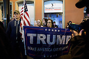 Thousands of people gathered in downtown Portland, Ore.  to protest against President-elect Donald Trump's inauguration on Friday, Jan. 20, 2017. After gathering for speakers, the group marched through the streets, disrupting some traffic and, in some places, coming in contact with police.  Photo by Randy L. Rasmussen, © 2017.