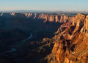 Palisades of the Desert and Colorado River. Grand Canyon National Park in Arizona.