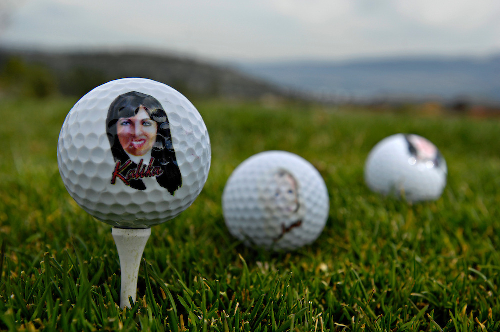 WEST KELOWNA, BC- 15/04/10 - Tail of the Tiger, the Mistress Collection, golf balls.   Photo by Daniel Hayduk