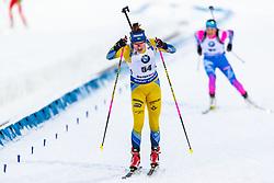 March 8, 2019 - –Stersund, Sweden - 190308 Linn Persson of Sweden competes in the Women's 7.5 KM sprint during the IBU World Championships Biathlon on March 8, 2019 in Östersund..Photo: Johan Axelsson / BILDBYRÃ…N / Cop 245 (Credit Image: © Johan Axelsson/Bildbyran via ZUMA Press)