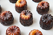 Les Caneles de Bordeaux cakes regional speciality food from Bordeaux, France