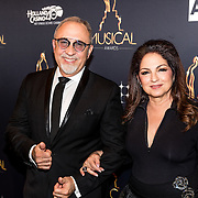 NLD/Utrecht/20170112 - Musical Awards Gala 2017, Gloria Estefan en partner Emilio Estefan