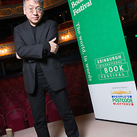 Kazuo Ishiguro speaks at an Edinburgh International Book Festival event at the Lyceum Theatre, Edinburgh on the 5th March 2015<br /> <br /> Picture by Alan McCredie/Writer Pictures<br /> <br /> WORLD RIGHTS