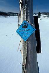 Craftsbury, VT.Cross-Country Skiing. Catamount Trail.