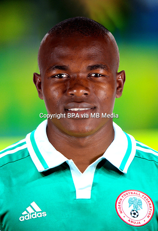 Football Fifa Brazil 2014 World Cup / <br /> Nigeria National Team - <br /> Victor OBINNA of Nigeria
