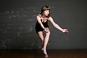Louisa Koeppel performing dance moves she choreographed.