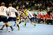 DESCRIZIONE : HandbaLL Cup Finale EHF Homme<br /> GIOCATORE : SAYAD Seufyann<br /> SQUADRA : Nantes <br /> EVENTO : Coupe EHF Demi Finale<br /> GARA : NANTES HOLSTEBRO<br /> DATA : 18 05 2013<br /> CATEGORIA : Handball Homme<br /> SPORT : Handball<br /> AUTORE : JF Molliere <br /> Galleria : France Hand 2012-2013 Action<br /> Fotonotizia : HandbaLL Cup Finale EHF Homme<br /> Predefinita :