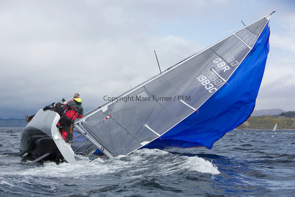 Day one of the Silvers Marine Scottish Series 2015, the largest sailing event in Scotland organised by the  Clyde Cruising Club<br /> Racing on Loch Fyne from 22rd-24th May 2015<br /> <br /> GBR1983C, Wildebeest IV, Derek Buchanan, Oxford SC, Brenta 24<br /> <br /> <br /> Credit : Marc Turner / CCC<br /> For further information contact<br /> Iain Hurrel<br /> Mobile : 07766 116451<br /> Email : info@marine.blast.com<br /> <br /> For a full list of Silvers Marine Scottish Series sponsors visit http://www.clyde.org/scottish-series/sponsors/