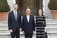 022019 Spanish Royals Attend an official lunch with Marcelo Rebelo de Sousa, President of Portugal