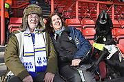 Leeds United fans and supporters during the EFL Sky Bet Championship match between Bristol City and Leeds United at Ashton Gate, Bristol, England on 9 March 2019.