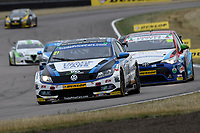 #21 Mike Bushell Trade Price Cars with Team HARD Racing Volkswagen CC during BTCC Race 1  as part of the Dunlop MSA British Touring Car Championship - Rockingham 2018 at Rockingham, Corby, Northamptonshire, United Kingdom. August 12 2018. World Copyright Peter Taylor/PSP. Copy of publication required for printed pictures.