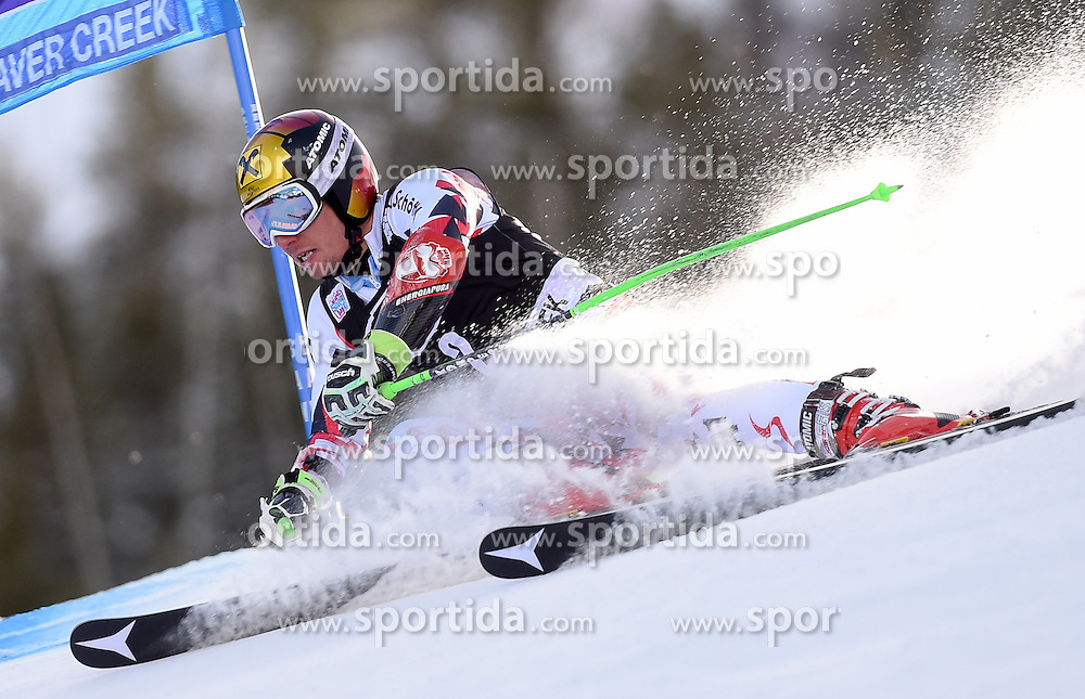 06.12.2015, Birds of Prey Course, Beaver Creek, USA, FIS Weltcup Ski Alpin, Beaver Creek, Riesenslalom, Herren, 1. Lauf, im Bild Marcel Hirscher (AUT) // Marcel Hirscher of Austria during the first run of mens Giant Slalom of the Beaver Creek FIS Ski Alpine World Cup at the Birds of Prey Course in Beaver Creek, United States on 2015/12/06. EXPA Pictures © 2015, PhotoCredit: EXPA/ Erich Spiess