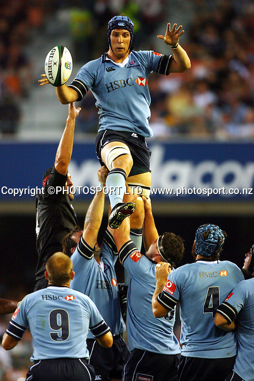 Dan Vickerman during the 2006 Super 14 rugby union match between the Stormers and the Waratahs at Newlands, Cape Town, South Africa, on Saturday 18 February, 2006. Photo: Carl Fourie/PHOTOSPORT