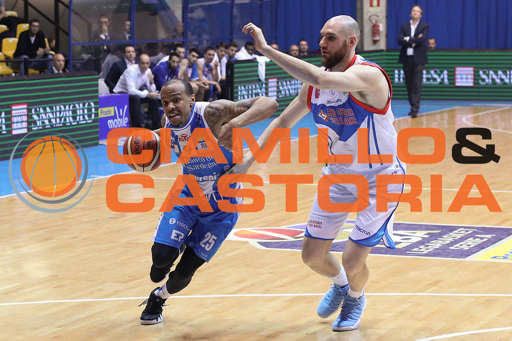 Hatcher William, Red October Cantù vs Banco di Sardegna Sassari - 16 giornata Campionato LBA 2017/2018, PalaDesio Desio 20 gennaio 2018 - foto BERTANI/Ciamillo