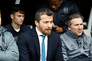 Fulham First Team Head Coach Slavisa Jokanovic during the EFL Sky Bet Championship match between Fulham and Wolverhampton Wanderers at Craven Cottage, London, England on 18 March 2017. Photo by Andy Walter.