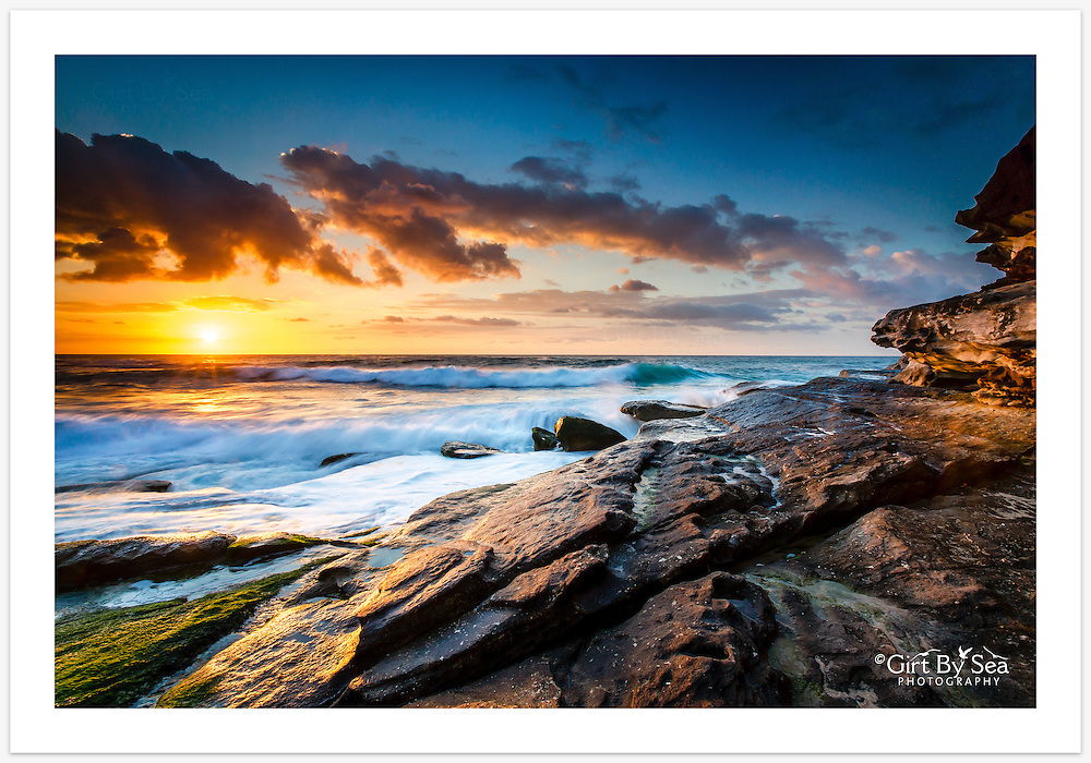 Spring sunrise at Tamarama Beach [Tamarama, NSW, Australia]<br />