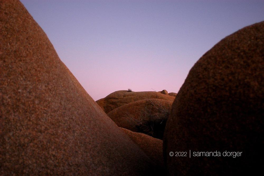 Skull rock, Joshua Tree National Park, California, USA