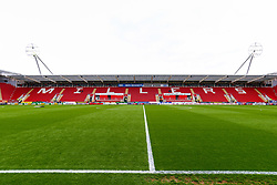A general view of the Aesseal New York Stadium home to Rotherham United - Mandatory by-line: Ryan Crockett/JMP - 05/05/2019 - FOOTBALL - Aesseal New York Stadium - Rotherham, England - Rotherham United v Middlesbrough - Sky Bet Championship