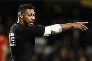 25 June 2016 New Zealand V Wales - Dunedin