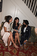WARIS, Robin Birley and Lady Annabel Goldsmith Summer Party. Hertford St. London. 5 July 2017