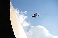 Tom Schaar during Skate Big Air Practice at 2014 X Games Austin in Austin, TX.    ©Brett Wilhelm/ESPN