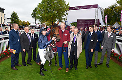 October 1, 2017 - Chantilly, France - Course 5 - Rhododendron - James A Heffernan - Aidan Patrick O Brien - Mathieu Legars (Credit Image: © Panoramic via ZUMA Press)