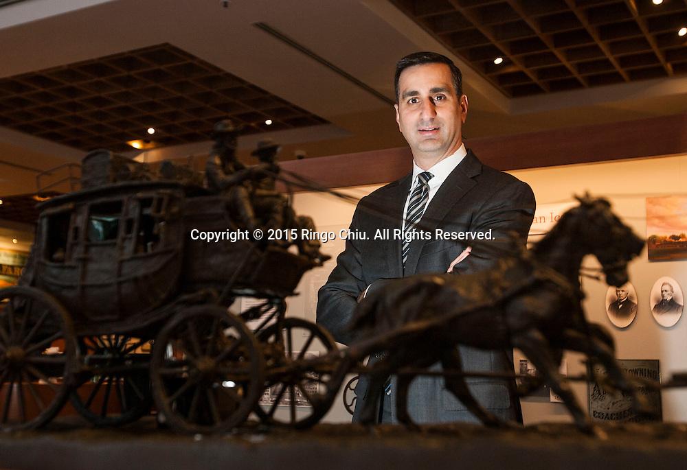 David DiCristofaro of Wells Fargo Bank.(Photo by Ringo Chiu/PHOTOFORMULA.com)
