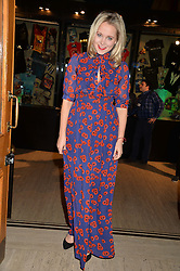 POPPY JAMIE at the opening night of Cirque du Soleil's award-winning production of Quidam at the Royal Albert Hall, London on 7th January 2014.