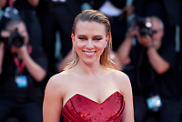 Venice, Italy, 29th August 2019, Scarlett Johansson at the gala screening of the film Marriage Story  at the 76th Venice Film Festival. Doreen Kennedy / Alamy Live News