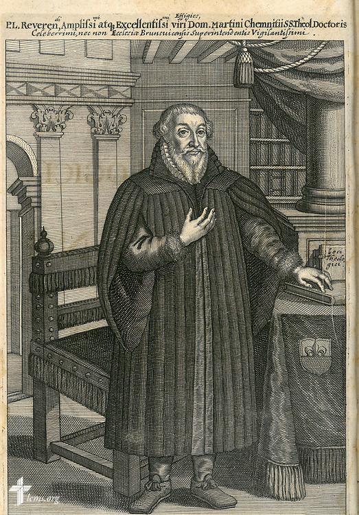 Taken From: <br /> Chemnitz, Martin, Loci theologici. 1653<br /> CHI 4th Floor (Chemnitz oversized, 1st book)
