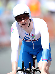 Scotland's Mark Stewart in action during the Men's Individual Time Trial at Currumbin Beachfront on day six of the 2018 Commonwealth Games in the Gold Coast, Australia.