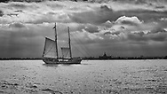 The New York Harbor.