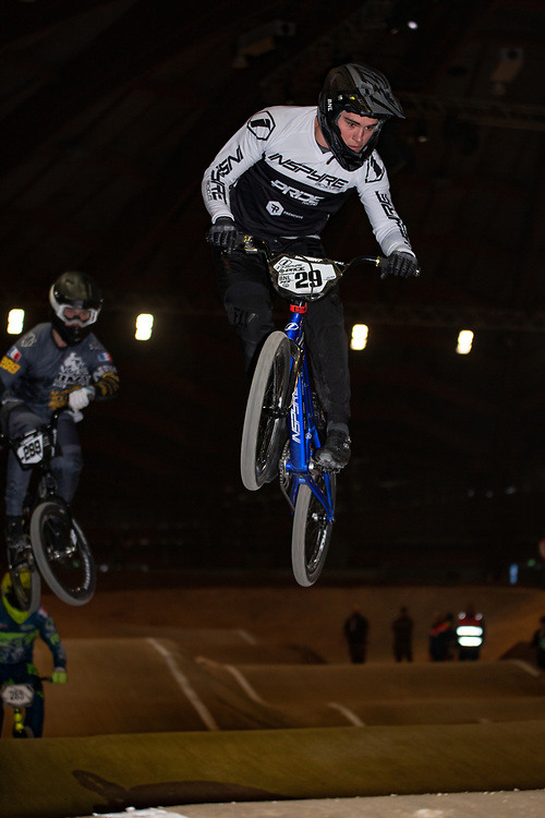 2019 Indoor d'Avignon<br /> Sunday<br /> RENCUREL Jeremy (Elite Men - LEMPDES BMX AUVERGNE) #Inspyre