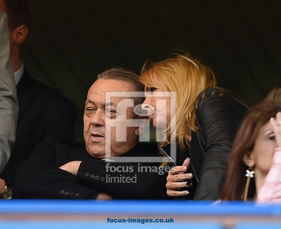 Co chairman, David Sullivan of West Ham United during the Premier League match at Stamford Bridge, London<br /> Picture by Daniel Hambury/Focus Images Ltd +44 7813 022858<br /> 15/08/2016