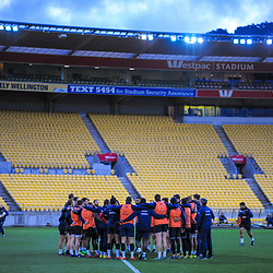 France Captain's Run at Westpac Stadium in Wellington, New Zealand on Friday, 15 June 2018. Photo: Dave Lintott / lintottphoto.co.nz