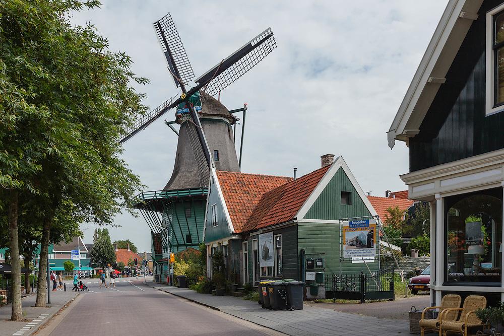 Molen, windmolen, classic windmill, Noord Holland, Netherlands