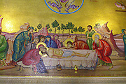 the Latin (Catholic) chapel, at the Church of the Holy Sepulchre, in the Christian quarters, Jerusalem, Israel