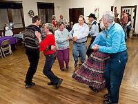 The Wicwas Grange Hall was filled with folks gathered having a good old fashioned foot stomping Spring Fling hoedown Saturday evening.  (Karen Bobotas/for the Laconia Daily Sun)
