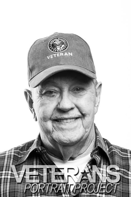 Max McClay<br /> Army<br /> E-3<br /> Infantry<br /> 1952 - 1957<br /> 1967 - 1969<br /> Vietnam<br /> <br /> <br /> Veterans Portrait Project<br /> San Diego, CA