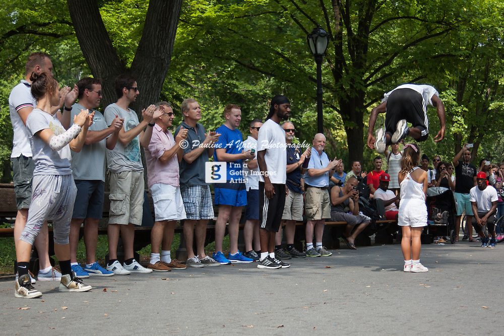Street Performers 2 Steps Away in Central Park New York