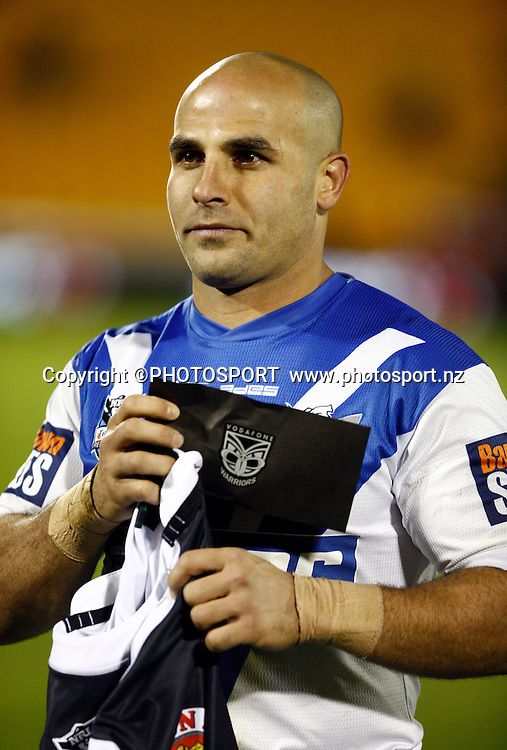 NRL legend and Bulldogs player Hazem El Masri after the game. NRL. Vodafone Warriors v Canterbury Bulldogs, Mt Smart Stadium, Auckland, New Zealand. Sunday 12 July 2009. Photo: Simon Watts/PHOTOSPORT Editorial Use Only