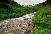 American Basin, San Juan Mountains (range of the Rocky Mountains), Southwest Colorado USA