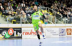 03.02.2017, BSFZ Suedstadt, Maria Enzersdorf, AUT, HLA, SG INSIGNIS Handball WESTWIEN vs HC FIVERS WAT Margareten, HLA Oberes Playoff, 1. Runde, im Bild Julian Ranftl (SG INSIGNIS Handball WESTWIEN) // during Handball League Austria, upper play off, 1 st round match between SG INSIGNIS Handball WESTWIEN and HC FIVERS WAT Margareten at the BSFZ Suedstadt, Maria Enzersdorf, Austria on 2017/02/03, EXPA Pictures © 2017, PhotoCredit: EXPA/ Sebastian Pucher